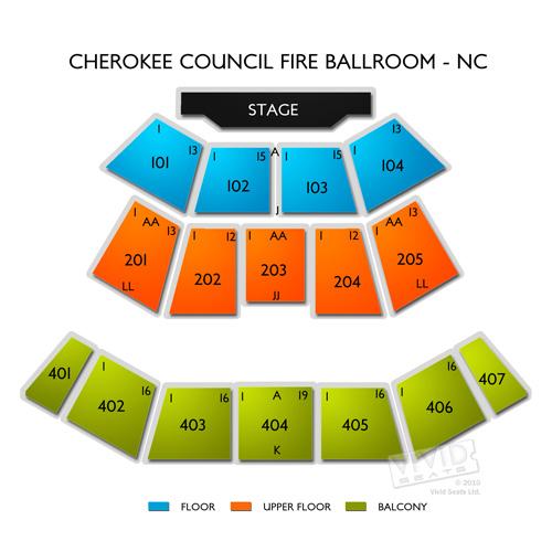Cherokee Council Fire Ballroom - NC