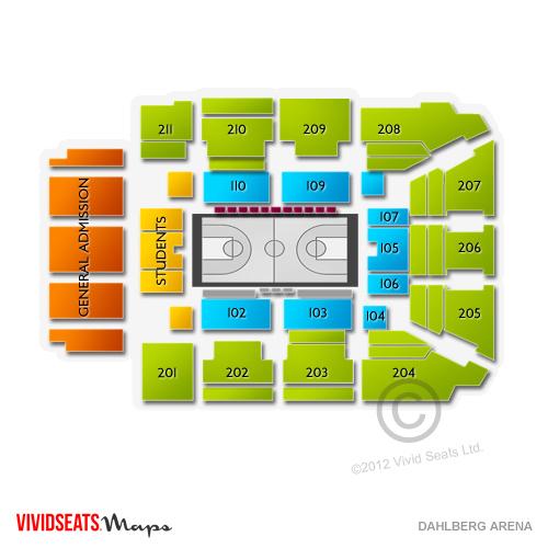 Dahlberg Arena