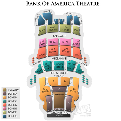 Bank of America Theatre-IL