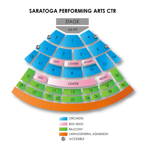 Zac Brown Band Saratoga Springs Tickets 8302019 Vivid