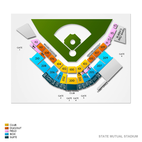 Asheville Tourists At Rome Braves Tickets 8302019 700