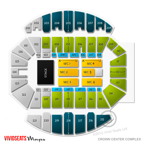 Crown Center Complex Of Cumberland County Seating Chart