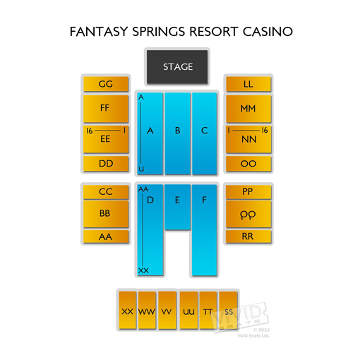 Fantasy springs casino seating aristocrat slot machines online