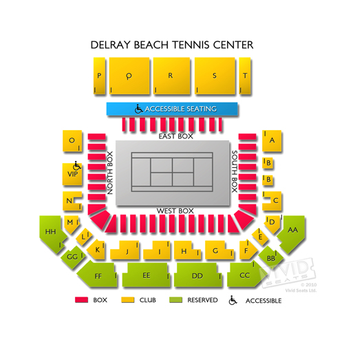 Delray Beach Tennis Center Seating Chart