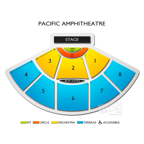 pacific amphitheatre seating chart | Brokeasshome.com
