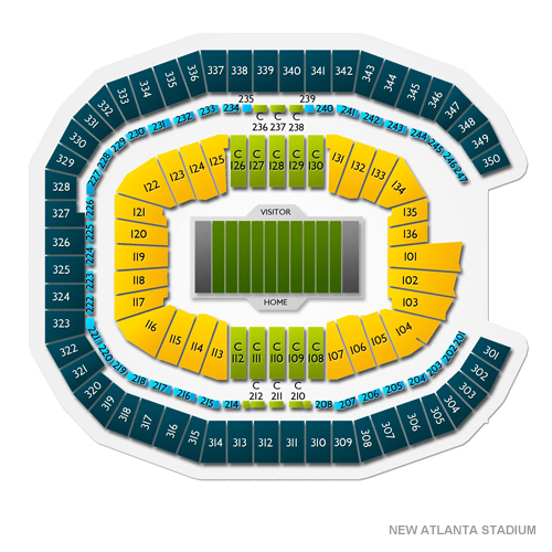 Mercedes benz stadium tickets mercedes benz stadium for Mercedes benz stadium seating chart atlanta united
