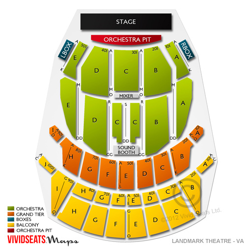 Altria Theater Tickets  Altria Theater Seating Chart