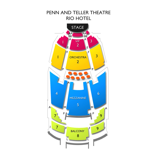Penn and teller las vegas tickets 8 28 2018 9 00 pm vivid seats