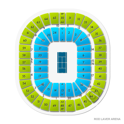 Rod laver arena seating chart vivid seats for Door 9 rod laver arena