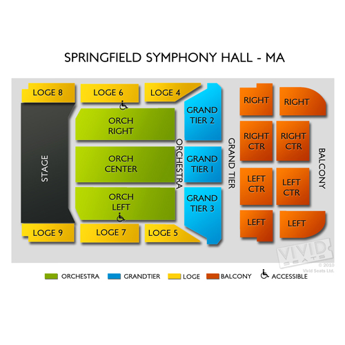 webster hall seating chart: The chieftains springfield tickets 3 11 2018 7 30 pm vivid seats