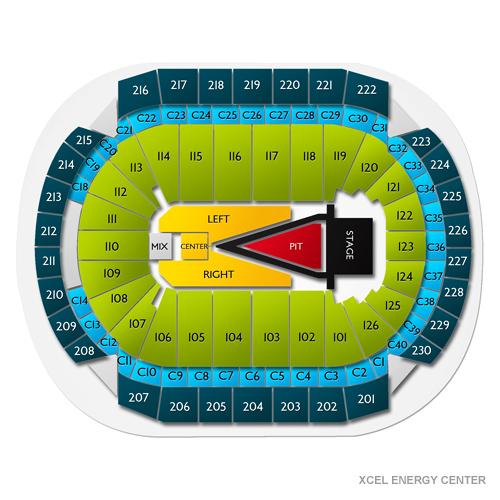 Maroon 5 Saint Paul Tickets - 9/18/18 Xcel Energy Center