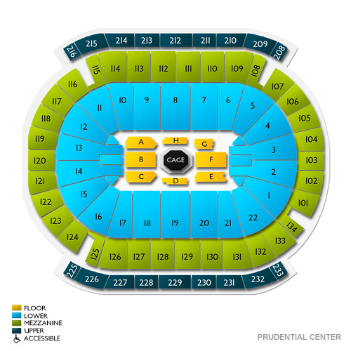 Prudential Center Suite Seating Chart