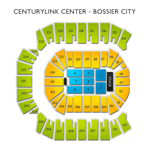 CenturyLink Center - Bossier City