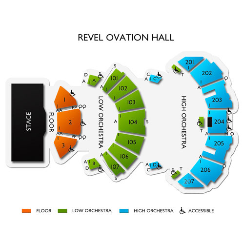 Ovation Hall At Ocean Casino Resort Tickets 9 Events On Sale Now Ticketcity