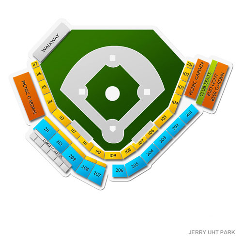 Richmond Flying Squirrels At Erie Sea Wolves Tickets 8272019 7