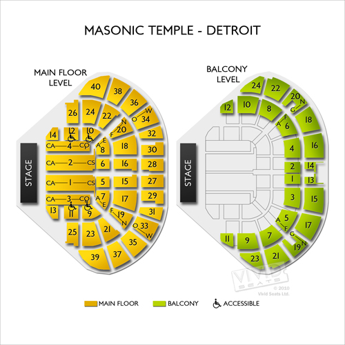 Masonic Temple Detroit Seating Chart Brokeasshome Com