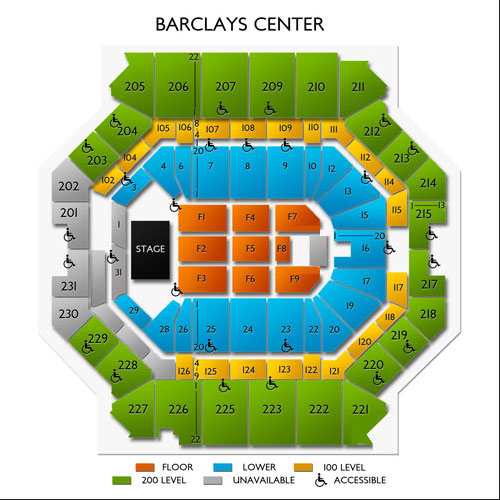 Tool Barclays Center Tickets For 111919 Brooklyn Ny
