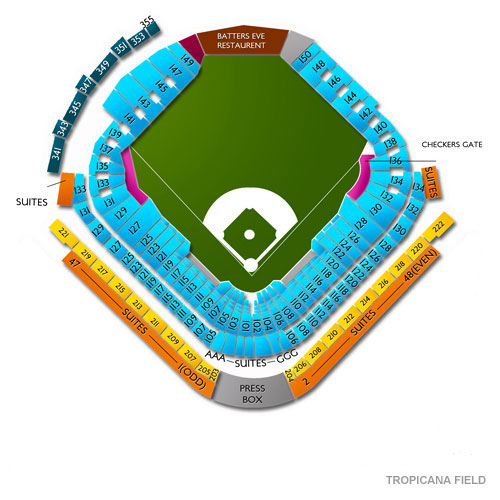 Cleveland Indians At Tampa Bay Rays Tickets 912019
