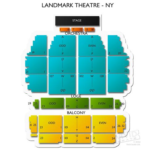 Landmark Theatre Syracuse Seating Chart Vivid Seats