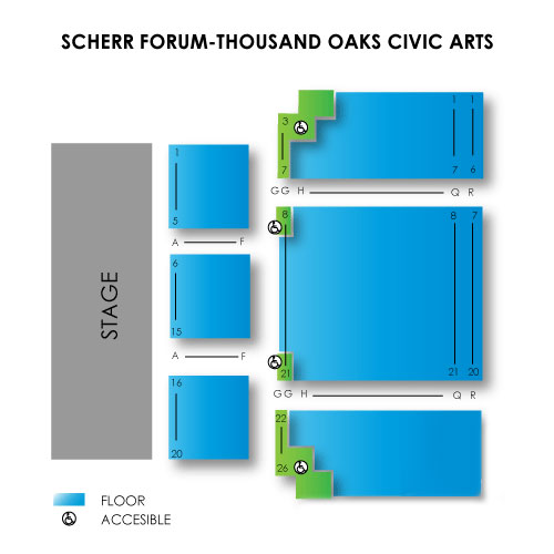 Janet Ray Scherr Forum Thousand Oaks Ca Seating Chart Stage