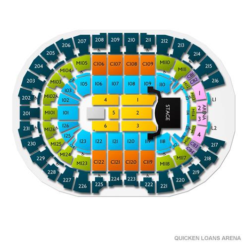 Celine Dion Cleveland Tickets - 10/18/19 Quicken Loans Arena on