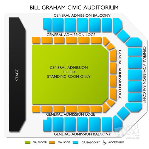 Bill Graham Civic Auditorium Tickets – Bill Graham Civic ...