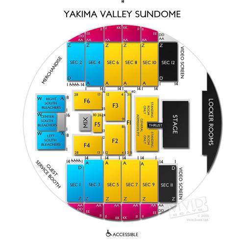 Yakima valley sundome seating chart vivid seats for Betterall motors yakima wa