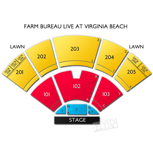 Virginia beach veterans amphitheater seating chart virginia