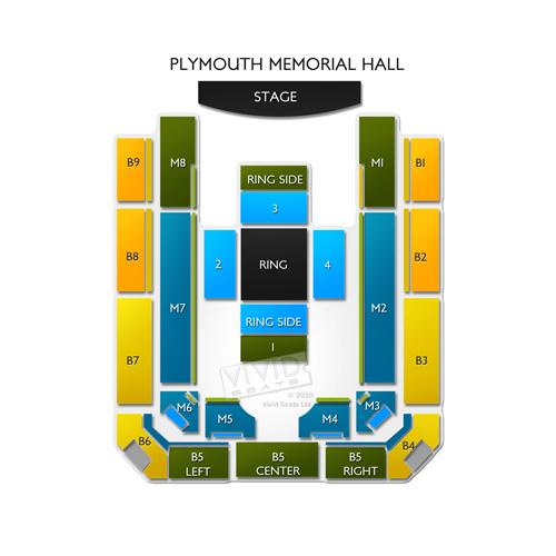 Plymouth Memorial Hall Seating Chart Vivid Seats