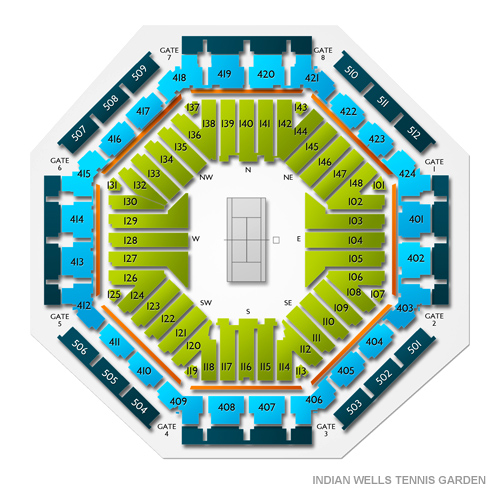 Indian Wells Tennis Garden Tickets Indian Wells Tennis Garden