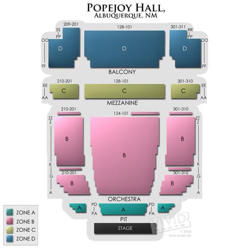 Popejoy Hall Tickets Popejoy Hall Information Popejoy