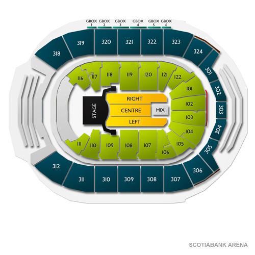 Celine Dion Toronto Tickets - 12/9/19 Scotiabank Arena