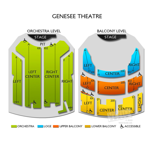 Genesee theater seating chart hobit fullring co