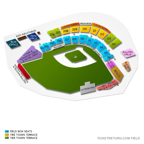 Frederick Keys At Myrtle Beach Pelicans Tickets