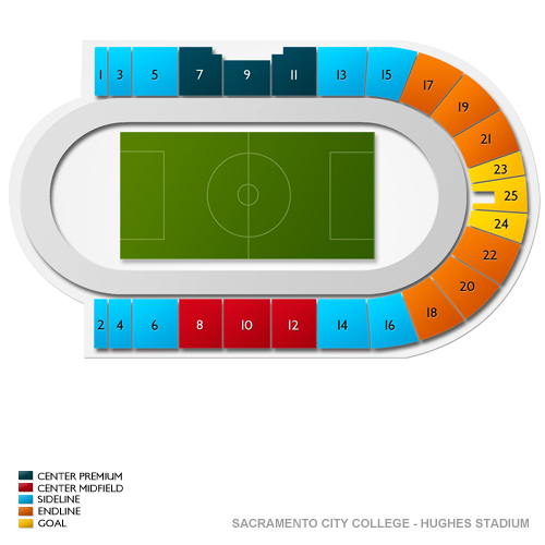 sacramento city college hughes stadium seating chart vivid seats. Black Bedroom Furniture Sets. Home Design Ideas