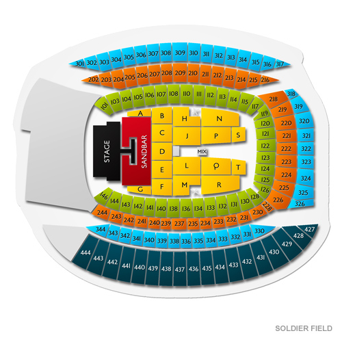Kenny Chesney With Florida Georgia Line And Old Dominion Rescheduled From 7 25 2020 Soldier Field Tickets 6 26 2021 Vivid Seats