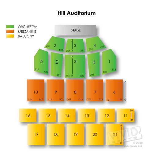 Fillmore Auditorium Seating Capacity