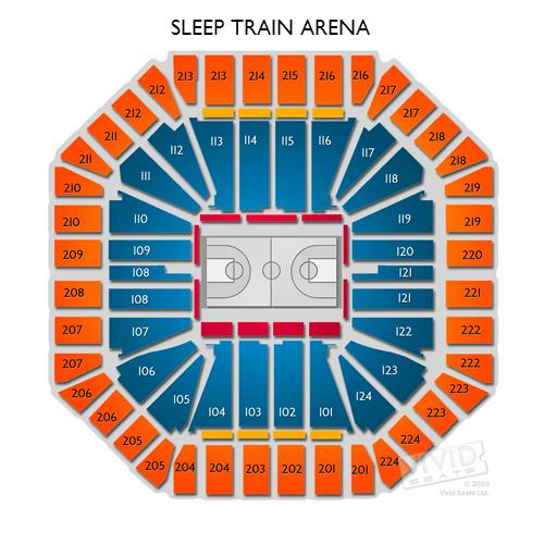 Sleep train arena seating chart view sleep train arena section