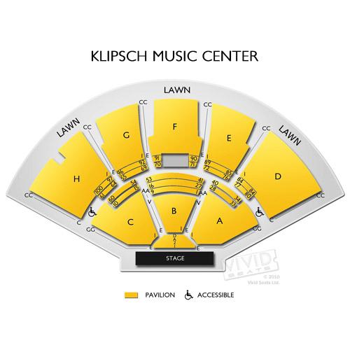 Klipsch Music Center Tickets Vivid Seats