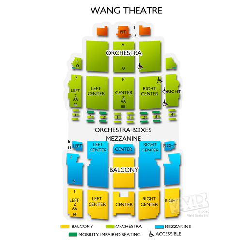Wang Theatre Concert Tickets And Seating View Vivid Seats