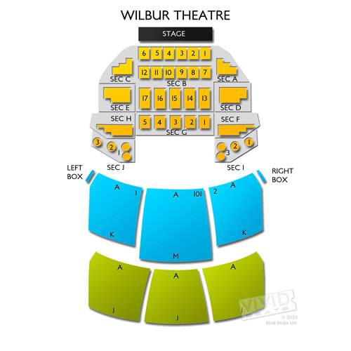 Wilbur theater seat chart heart impulsar co