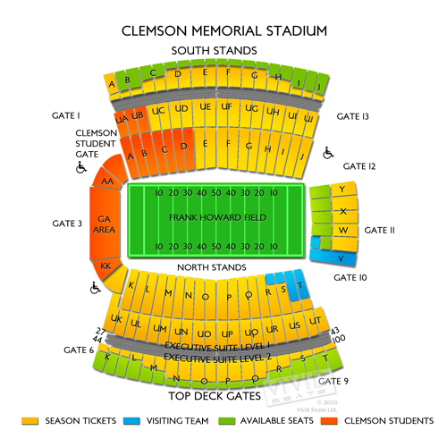 clemson vs auburn football tickets 9 9 17 vivid seats