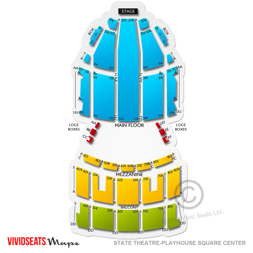 State Theater Seating Chart Cleveland Best Seat 2018