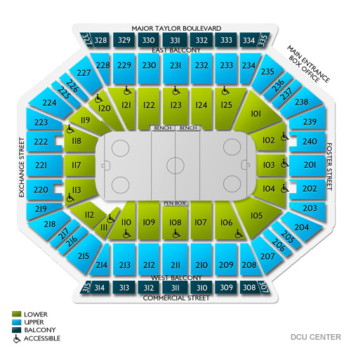 Reading Royals at Worcester Railers Tickets - 3/1/2020 3:05 ... on resch center map, mandalay bay events center map, wells fargo center map, target center map, lakeland center map, valley view casino center map, maverik center map, edaville usa map, reno events center map, wolstein center map, at&t center map, smoothie king center map, la crosse center map, dow event center map, convention center map, bb&t center map, times union center map, bridgeport arena map, bok center map, el paso county coliseum map,