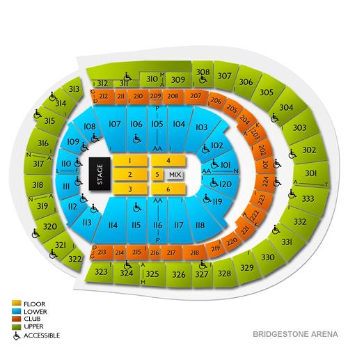Bridgestone Arena Planning Guide