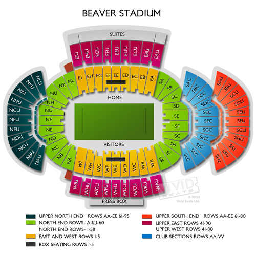 Penn state football parking interactive map