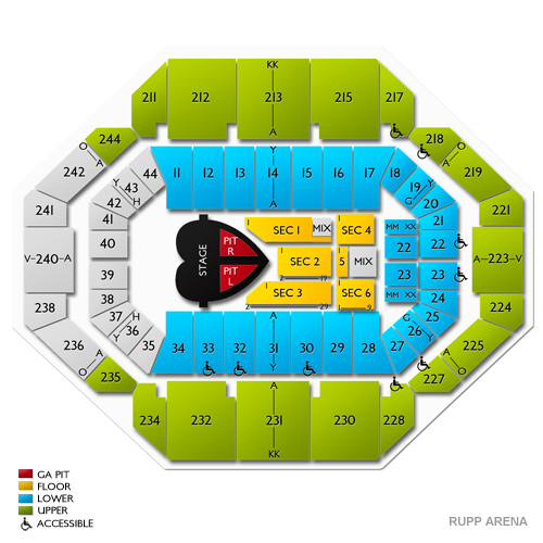 Pink lexington tickets for rupp arena 5 9 19