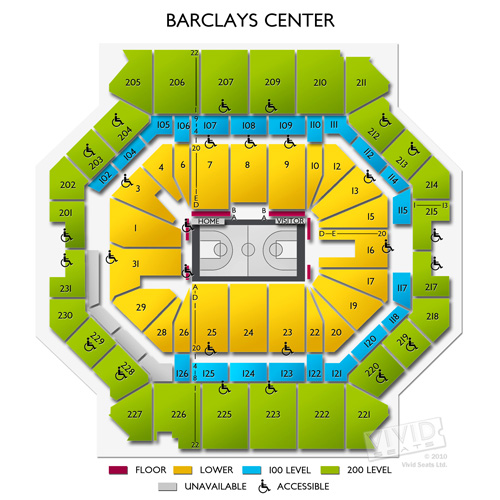 Barclays Center Concert Tickets And Seating View Vivid Seats