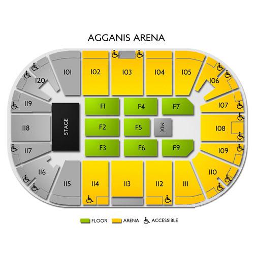 Agganis arena boston ma seating chart stage boston theater