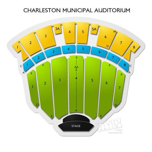 charleston municipal auditorium seating chart vivid seats. Black Bedroom Furniture Sets. Home Design Ideas